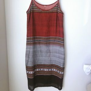 Dresses & Skirts - Beautiful spaghetti strap size medium midi length